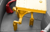 Sicoma turbine discharge system