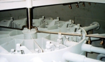 Sicoma pan mixer high pressure washout system