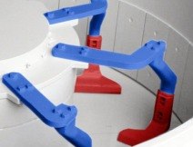 Sicoma turbine mixer arms
